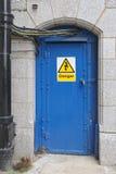 Porte électrique Photos libres de droits