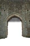 Porte médiévale de château, Angleterre Images libres de droits