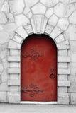 Porte médiévale de type photographie stock libre de droits