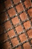 porte médiévale de vieille électrodéposition Photos stock