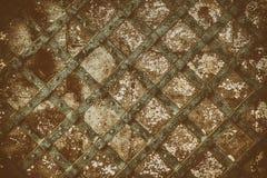 porte médiévale de vieille électrodéposition Photographie stock libre de droits