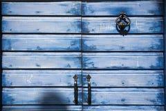 Porte méditerranéenne de vieille ville Photo stock