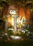 Porte magique Photo libre de droits