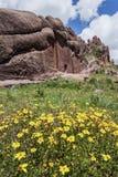 Porte magique près de Puno Photos stock