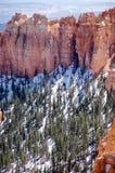 Porte-malheur, canyon d'Agua, Bryce Canyon sur le soleil Photo libre de droits