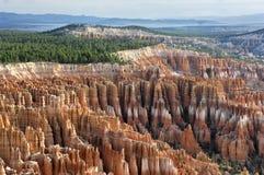 Porte-malheur comme vu du point d'inspiration en Bryce Canyon National Park photographie stock