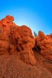 Porte-malheur en canyon rouge en Utah, Etats-Unis Image libre de droits