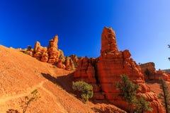 Porte-malheur en canyon rouge en Utah, Etats-Unis Photos libres de droits