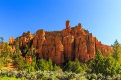 Porte-malheur en canyon rouge en Utah, Etats-Unis Photo libre de droits