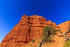 Porte-malheur en canyon rouge en Utah, Etats-Unis Photographie stock