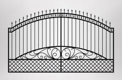 Porte modifiée Photo stock