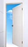 Porte ouverte Image libre de droits