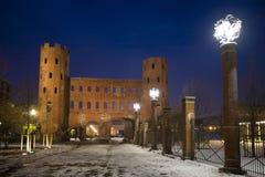 Porte palatine Royaltyfri Fotografi