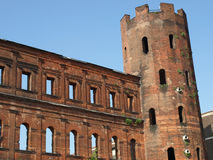 Porte Palatine, Turin Royalty Free Stock Photos