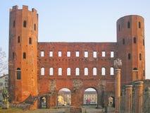 Porte Palatine, Turin Stock Images