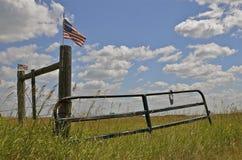 Porte patriotique Photographie stock libre de droits