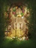 Porte perdue de jardin Images libres de droits