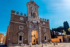 Porte Pia w Rzym fotografia stock