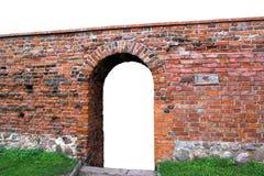 Porte portique dans la porte Photographie stock libre de droits