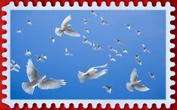 Porte postal foto de stock