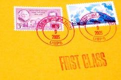 Porte postal Imagens de Stock Royalty Free
