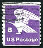 Porte postal da categoria B nos EUA imagens de stock
