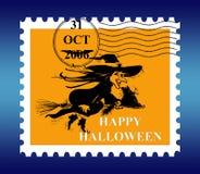 Porte postal de Halloween ilustração stock