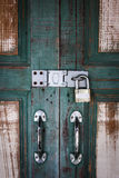 Porte principale Photographie stock