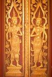 Porte religieuse de temple de bouddhisme image libre de droits