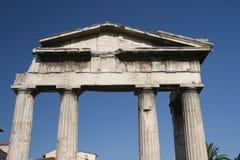 Porte romaine du marché photos libres de droits