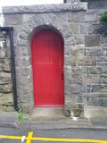 Porte rouge image stock