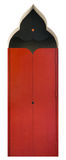 Porte rouge images stock