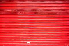 Porte rouge de roulement Image stock
