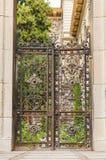 Porte rouillée images stock