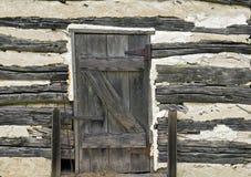 Porte rustique Photographie stock