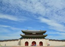 Porte Séoul de Gwanghwamun Image libre de droits