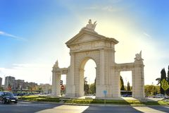 Porte Saint Vincent Stock Photography