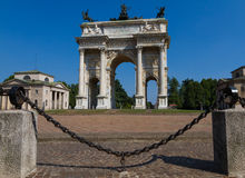 Porte Sempione Imagenes de archivo