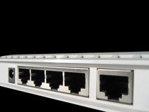 Porte senza fili del router Fotografie Stock Libere da Diritti
