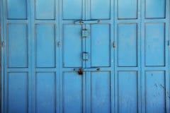 Porte variopinte in Christian Quarter a Gerusalemme Fotografia Stock Libera da Diritti