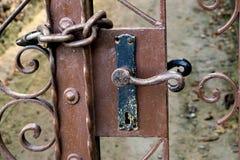 Porte verrouillée Photographie stock libre de droits