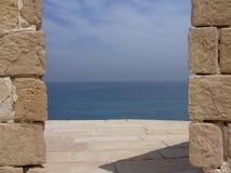 Porte vers l'océan Photos libres de droits