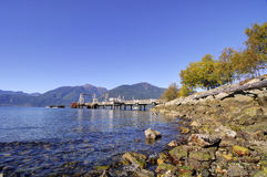 Porteau Cove Provincial Park Royalty Free Stock Photos
