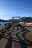 Porteau Cove Wharf, BC Royalty Free Stock Photography
