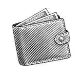 portefeuille vector illustratie