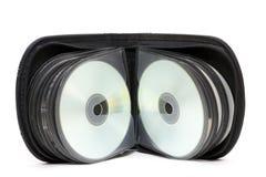 Portefeuille de CD/DVD photos stock