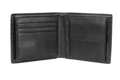 Portefeuille en cuir Photo stock