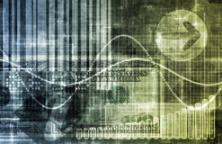 Portefeuille von Anlagepapieren Lizenzfreie Stockfotos