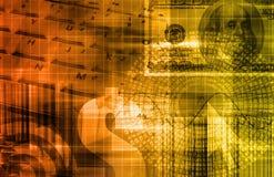 Portefeuille von Anlagepapieren stock abbildung