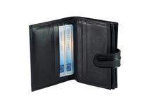 Portefeuille voor bankkaarten Stock Foto